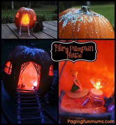 Fairy Halloween Pumpkin House