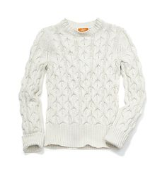 Joe Fresh Women's Cable Crewneck Sweater...cannot wait for joe fresh to arrive in jcpenny store!! $29 cable knit sweater!!