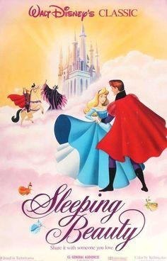 Sleeping Beauty 1959 Original R86 One Sheet Movie Poster