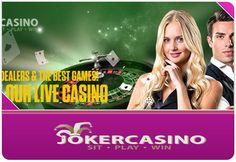 Live Casino, Casino Bonus, Best Games, Casino Poker, Joker, Sign, Image, The Joker, Signs