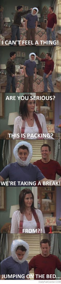 hahaha - Friends, Joey and Chandler
