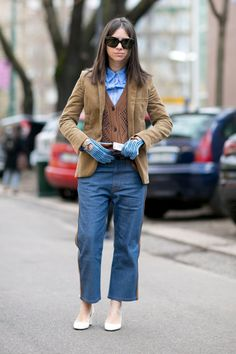 Pin for Later: Ciao, Milano! The Best Street Style From MFW MFW Day Two Natasha Goldenberg