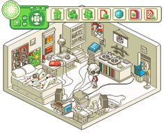 Dave Strider - beta kid pixel rooms homestuck