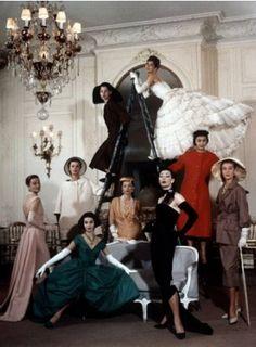 Dior, Paris, 1957