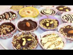 Шоколадные конфеты с начинкой. Как сделать в домашних условиях - YouTube