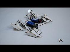 Self-folding robots - YouTube