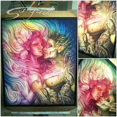 More art from Puerto Rico - done by Juan Salgado. Love the art from this guy! #tattoo #tattoos #ink #inked
