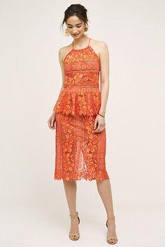Mandarine Pencil Skirt