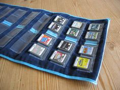 I need to make one of these for the kids' ds games!  Why didn't I think of this?!