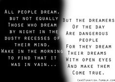 Dreamers of the Day (T.E. Lawrence)