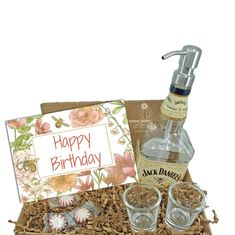 """Search: 10 results found for """"gift box"""" – Looking Sharp Cactus LLC Happy Birthday Jack Daniels, Happy Birthday Gifts, Cactus Gifts, Succulent Gifts, Glass Dispenser, Soap Dispensers, Whiskey Gifts, Wine Gifts, Jack Daniels Decor"""