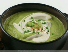 Avacado lime soup