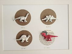 Dinosaur Wall Art (Eenie, Meenie, Miney)