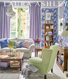 Find sophisticated detail in every Laura Ashley collection - home furnishings, children's room decor, and women, girls & men's fashion. Laura Ashley Home, Interior Decorating, Interior Design, Cottage Interiors, Childrens Room Decor, Home And Deco, House Colors, Home Furnishings, Family Room