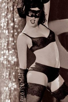 German Cabaret Dancer, c. 1930's
