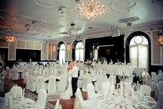 Langtons Ballroom Wedding Reception, Wedding Venues, Wedding Locations, Chandelier, Ceiling Lights, Home Decor, Marriage Reception, Wedding Reception Venues, Wedding Places