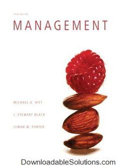Digitalsolutions downloadablesol on pinterest solutions manual for management 3e michael a hitt stewart black lyman w fandeluxe Gallery