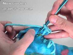 How to Crochet Edge Border of Fleece Blanket - Easy TUTORIAL (Bubble Shells) - YouTube