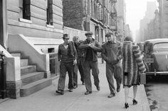 New York City Street Scene | New York City Black & White NYC Black ...