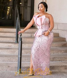 49 Edition of - Shop These New Aso ebi Lace style & African Print Trend - fashion dresses - Aso Ebi Lace Styles, African Lace Styles, Lace Dress Styles, African Lace Dresses, African Wedding Dress, Latest African Fashion Dresses, Women's Fashion Dresses, Fashion Styles, Ankara Fashion