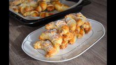 Bratislavské rohlíčky pana Dubčeka upekla Zdena Jedličková Bread Dough Recipe, Baking Videos, Desert Recipes, Amazing Cakes, Shrimp, Sausage, Deserts, Treats, Cooking