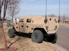 Special Forces Prototype Vehicle - ELSORV - One-Of-A-Kind