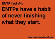 So... it's because I'm this MB type that I procrastinate... so then it's okay, right? ;)