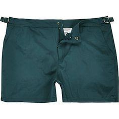Teal blue swim shorts $40.00