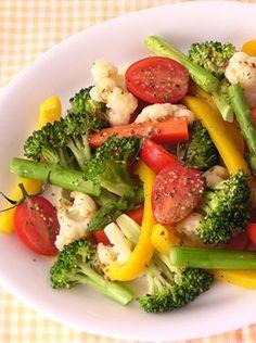 食卓に彩りを!】栄養たっぷり【ホットサラダ】レシピ〈24選〉(温野菜 ... 出典cookpad.com