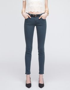 Super Skinny in Darth - like this color