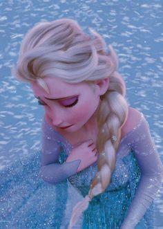 *ELSA (The Snow Queen) ~ Frozen, 2013...   tremendous emotional pain
