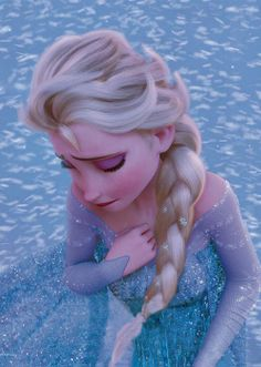 *ELSA (The Snow Queen) ~ Frozen, 2013...   tremendous emotional pain