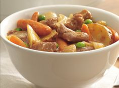 With a few minutes of prep, you can come home to a warm and hearty meat-and-potatoes dinner.