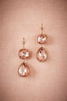 Pear Drop Earrings in Shoes & Accessories Jewelry at BHLDN #bhldnwishes