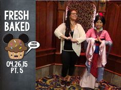 Here's a hug from Fresh Baked.  Let's meet Mulan! | 04-26-15 Pt. 5