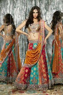 Flamboyant colors for the indian wedding season! get fashion stylist advice @ http://www.shaadiekhas.com