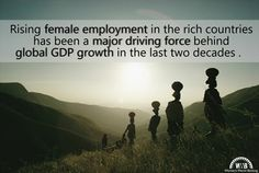 If you want to grow the economy, women have to be a part of it.
