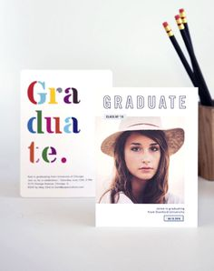 Stand out as you deserve with these Graduation Announcements. Luxe & eco-friendly plus every order plants a tree. That's good for everyone's future!