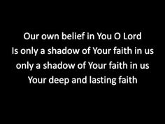 Only a shadow (with lyrics)