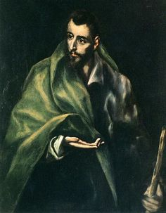 "El Greco ""Apostle St. James the Greater"", 1614 (Greece / Spain, Late Renaissance / Mannerism, 17th cent.)"