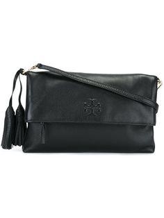 f784ac58e3a8 TORY BURCH Tassel Detail Crossbody Bag.  toryburch  bags  shoulder bags   leather