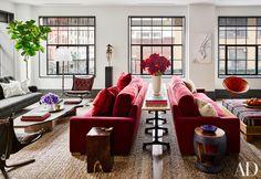 An NYC living room