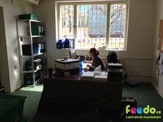 zbrusu nová kancelář Feedo skladu!