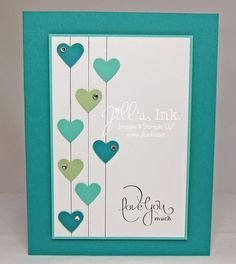 January Projects Make n Take Card - Best of Love