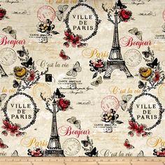 C'Est La Vie  Paris Ecru