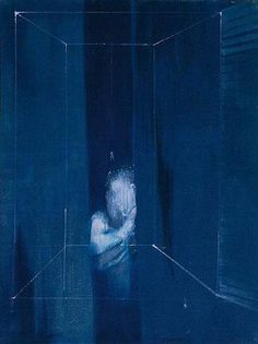Francis Bacon - Two Figures At A Window, 1953