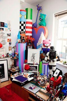 pretty messy room