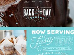 Back in the Day Website by Lerin Chase Turberville