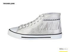 Sneaker donna TRUSSARDI JEANS 79S514 Grigio