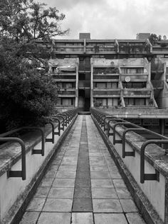 Visions of an Industrial Age // Alexandra and Ainsworth Estate South Hampstead, London, Neave Brown, Camden Council's Architects Department, Photo: Simon Phipps: Brutalist Buildings, Modern Buildings, Modern Architecture, Council Estate, Artistic Photography, Urban Photography, London City, Concrete, Architecture